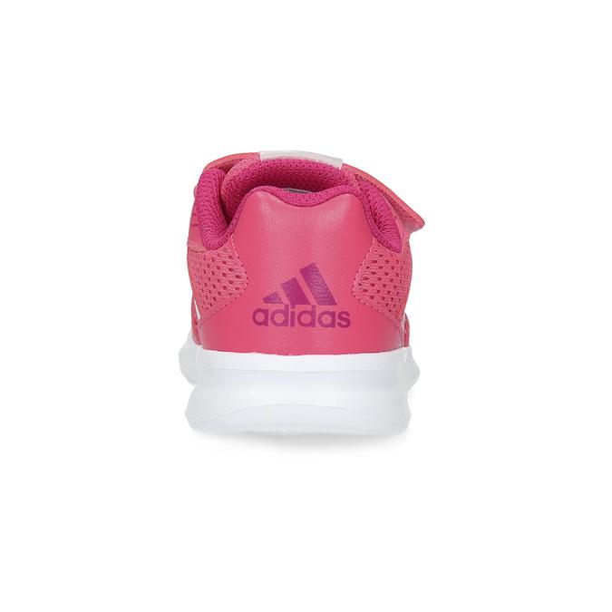 Różowe trampki dziecięce adidas, różowy, 109-5147 - 15