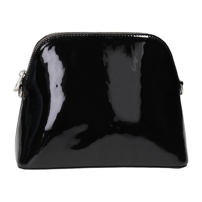 Lakierowana czarna torebka bata, czarny, 961-6850 - 26