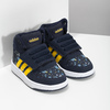 Niebieskie trampki chłopięce za kostkę adidas, niebieski, 101-9125 - 26
