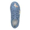 Granatowe trampki dziewczęce zmotylami mini-b, niebieski, 321-9618 - 15