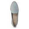 Skórzane loafersy damskie bata, niebieski, 519-9605 - 17