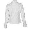 Biała kurtka damska ze skóry ekologicznej bata, biały, 971-1206 - 26