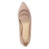 Skórzane loafersy damskie bata, 523-5659 - 17
