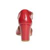 Lakierowane czółenka damskie insolia, czerwony, 721-5611 - 16