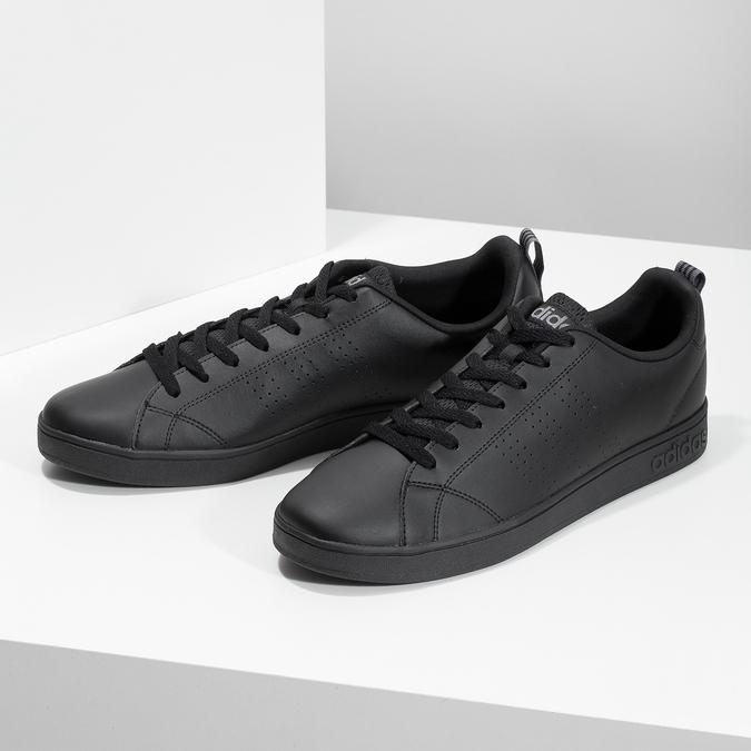 Czarne trampki męskie adidas, czarny, 801-6144 - 16