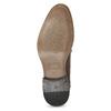 Skórzane półbuty męskie ze zdobieniami bata, brązowy, 826-4927 - 18