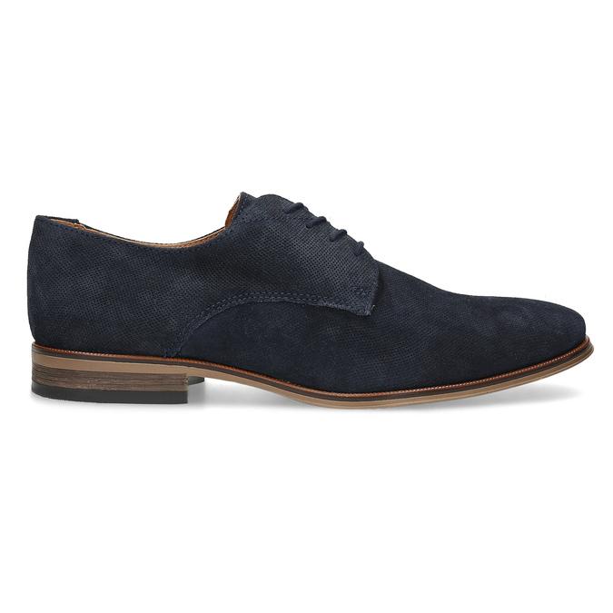 Niebieskie półbuty męskie bata, niebieski, 823-9616 - 19