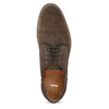 Brązowe zamszowe półbuty bata, brązowy, 823-4626 - 17