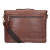 Skórzana teczka męska bata, brązowy, 964-3285 - 16