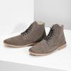 Skórzane buty męskie za kostkę bata, brązowy, 823-8629 - 16
