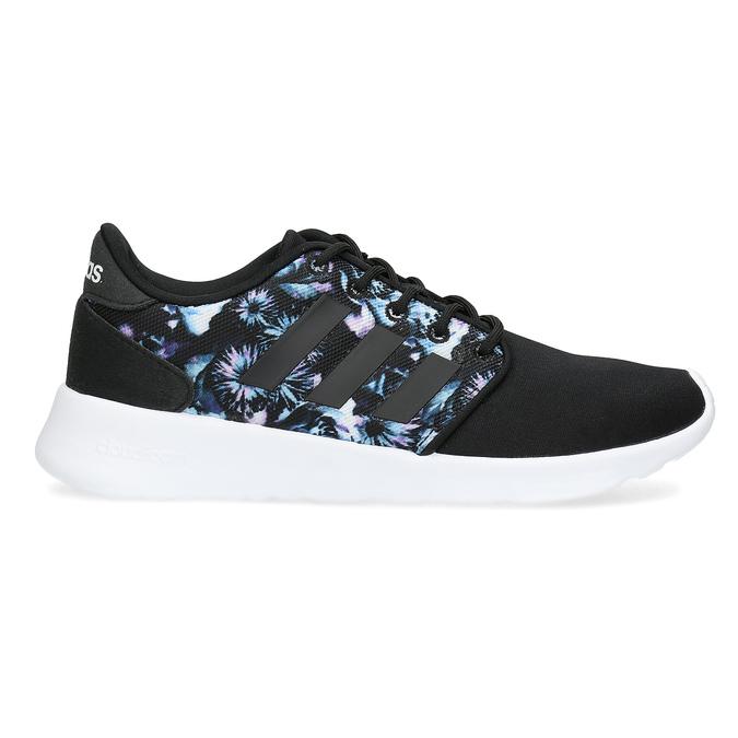 Trampki zkolorowym deseniem wkwiaty adidas, czarny, 509-6212 - 19