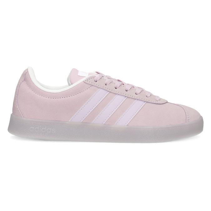 Różowe zamszowe trampki adidas, różowy, 503-5579 - 19