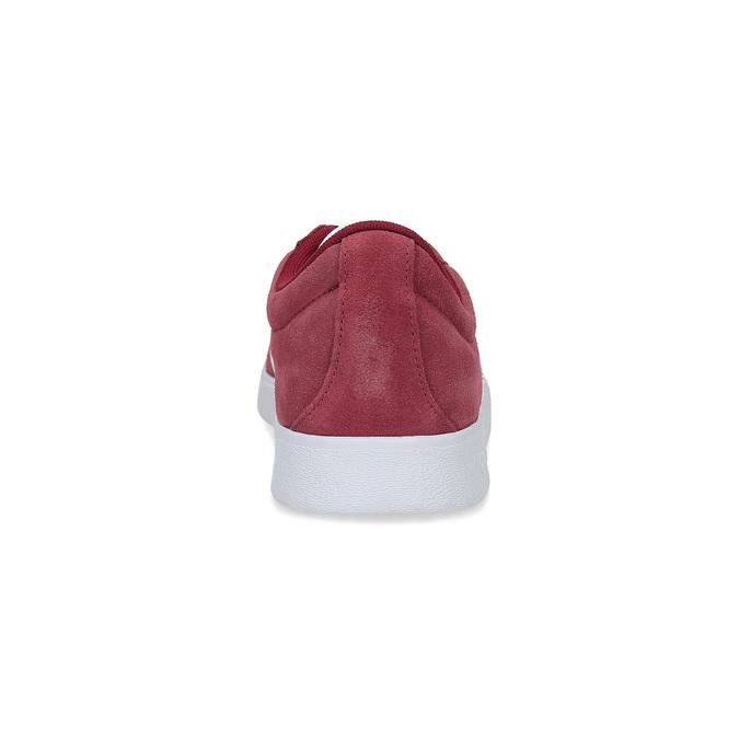 Czerwone zamszowe trampki męskie adidas, czerwony, 803-5379 - 15