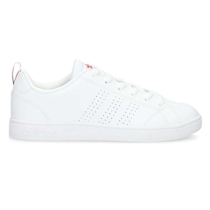 Białe trampki damskie adidas, biały, 501-5500 - 19
