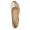 Złote baleriny damskie bata, 529-8640 - 15
