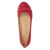 Czerwone baleriny zkokardami bata, czerwony, 529-5637 - 15