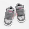 Szare trampki wdeseń, za kostkę adidas, szary, 101-2125 - 16