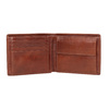 Brązowy skórzany portfel męski bata, brązowy, 944-3191 - 15