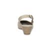 Skórzane czółenka oszer. H, bez pięty bata, beżowy, 623-2645 - 15