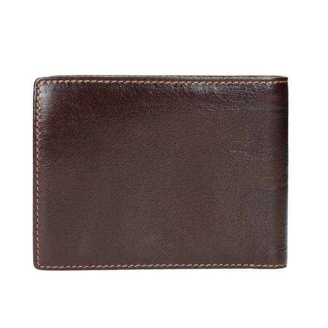Skórzany portfel męski bata, brązowy, 944-4191 - 16