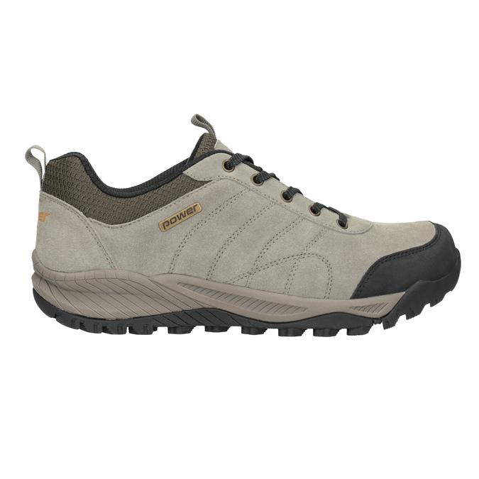 Skórzane obuwie wstylu outdoor power, brązowy, 803-3848 - 26