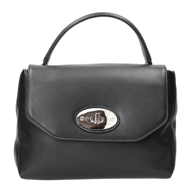Czarna torebka damska bata, czarny, 961-6839 - 26