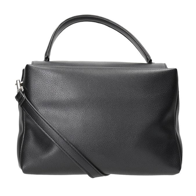 Czarna torebka damska bata, czarny, 961-6839 - 16