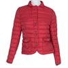 Czerwona pikowana kurtka zkołnierzykiem bata, czerwony, 979-5182 - 13