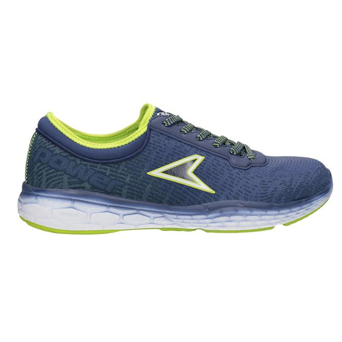 Trampki męskie wsportowym stylu power, niebieski, 809-9852 - 26