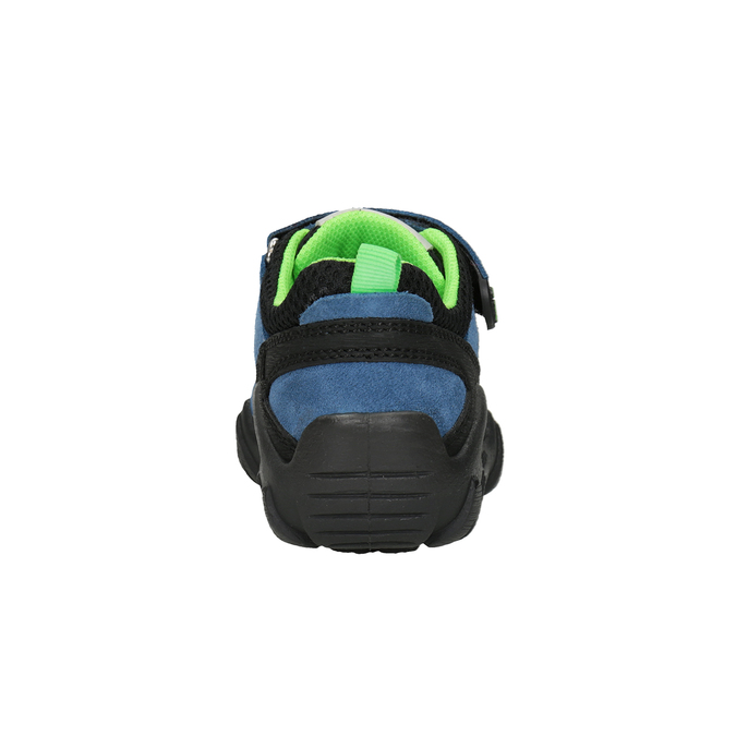 Slip-on dziecięce wstylu outdoor mini-b, niebieski, 413-9605 - 16