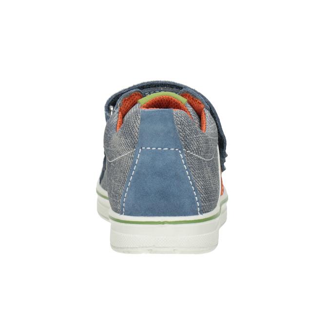 Trampki dziecięce wdżinsowym stylu mini-b, niebieski, 213-9600 - 16