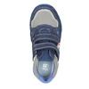 Niebieskie skórzane trampki dziecięce mini-b, niebieski, 213-9604 - 15