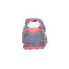 Skórzane trampki dziewczęce na rzepy mini-b, różowy, 223-9604 - 16