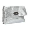 Srebrna skórzana torebka typu crossbody bata, 964-1239 - 13