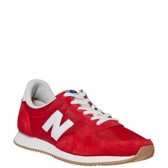 Czerwone trampki męskie new-balance, czerwony, 809-5320 - 13