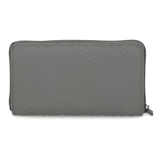 Szary skórzany portfel damski gabor-bags, szary, 946-8002 - 16