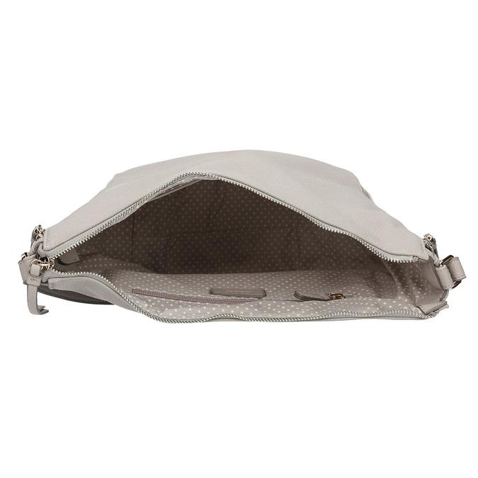 Torba zzamkami błyskawicznymi wstylu hobo gabor-bags, szary, 961-8002 - 15