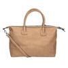 Brązowa torebka damska zperforowanym wzorem bata, brązowy, 961-4827 - 16