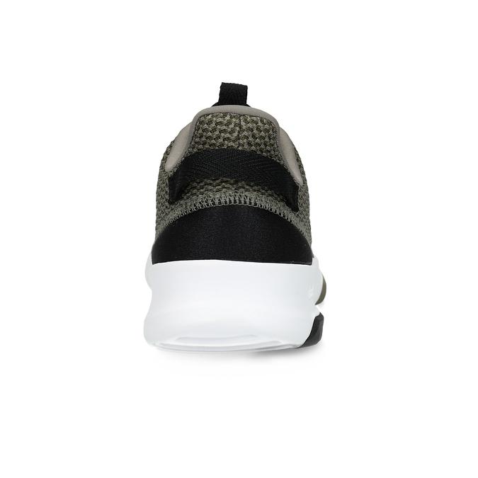 Trampki męskie wkolorze khaki adidas, khaki, 809-7201 - 15