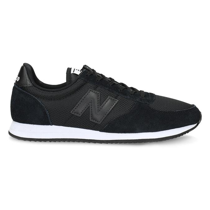 Czarne trampki damskie wsportowym stylu new-balance, czarny, 509-6871 - 19