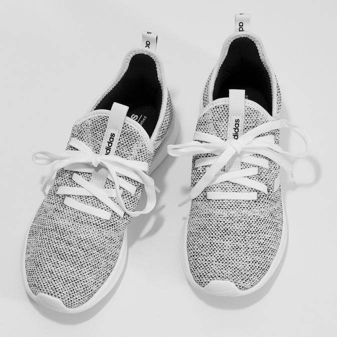 Trampki zwycięciem wokół kostek adidas, szary, 509-2569 - 16