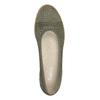 Baleriny wkolorze khaki zperforacją gabor, khaki, 523-7010 - 15