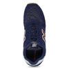 Granatowe skórzane trampki męskie New Balance new-balance, niebieski, 803-9207 - 17