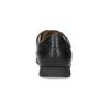 Czarne półbuty męskie na wygodnej podeszwie comfit, czarny, 824-6996 - 15