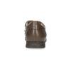 Skórzane półbuty męskie na wygodnej podeszwie comfit, brązowy, 824-4996 - 15