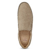 Skórzane mokasyny męskie wstylu loafersów, beżowy, 816-8600 - 17