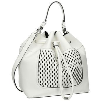 Biała torebka bucket bag bata, biały, 961-1298 - 13
