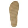 Granatowe skórzane klapki bata, niebieski, 866-9647 - 18