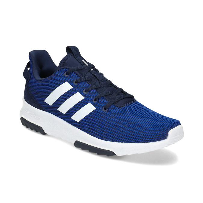 Niebieskie trampki męskie adidas, niebieski, 809-9601 - 13