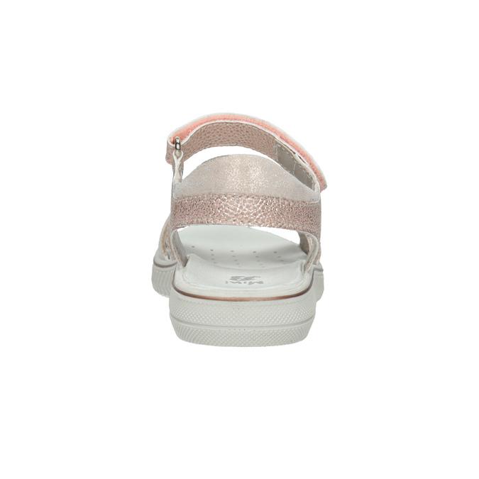 Różowe sandały dziewczęce zkryształkami mini-b, różowy, 361-5612 - 15